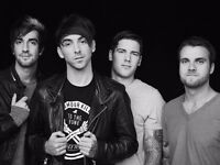 2! ALL TIME LOW! O2 ACADEMY BRIXTON! 31ST MARCH!