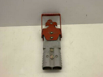 Anderson Power Forklift Battery Bracket And Two Anderson Connector Battery
