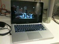 Apple MacBook Pro 13 inch Core 2.26 Ghz 4gb Ram 320 HD Logic Pro 9 & Pro X, Adobe, Final Cut Pro