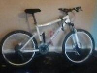 Norco faze lx professional down hill mountain bike