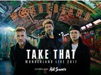 3 x take that tickets for Swansea