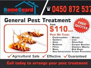 Pest control service's from $110 all Sydney area's Chester Hill Bankstown Area Preview