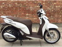 16 Reg Honda SH Mode 125, As new condition