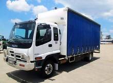 Isuzu FRR525 Curtainsider Glanmire Gympie Area Preview