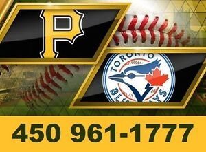 PIRATES vs BLUE JAYS : AU STADE OLYMPIQUE !!!