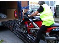 EX-LARGE Motorbike loading ramps - 9ft by 40 inches wide perfect for larger bikes like harleys