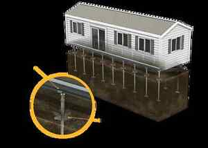 Mobile Home Foundation Solution