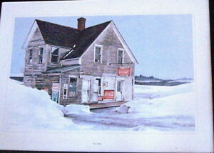 10 Canadiana Prints-'Vanishing Buildings of Canada' 1970 London Ontario image 5
