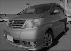 Toyota Alphard 2.4 Petroil Automatic 8 seaster, 80,000 miles approx
