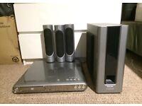 Superb Philips sound system + DVD player