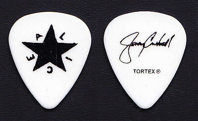 Alice in Chains Jerry Cantrell Signature White Guitar Pick - 2010 Tour