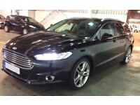 FORD MONDEO BLACK 2.0 TDCI 180 TITANIUM X ESTATE DIESEL FROM £77 PER WEEK!
