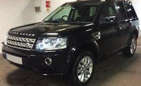 LAND ROVER FREELANDER 2 2.2 SD4 HSE XS GS SE TECH SPORT LE £99 PER WEEK!