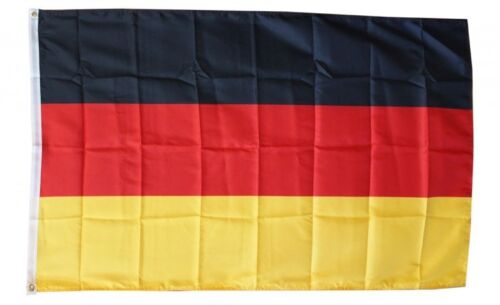 GERMANY FLAG 3 x 5 FOOT FLAG -  NEW HIGHER QUALITY ULTRA KNIT 3x5