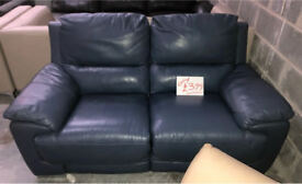 DFS Falcon 2 seater electric recliner sofa