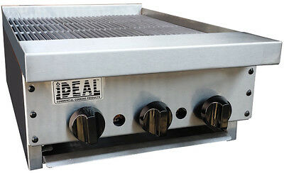 New 18 Commercial Radiant Broiler By Ideal. Made In Usa. Nsf Etl Approved.