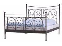 Ikea Metal kingsize bed frame