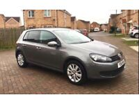VOLKSWAGEN GOLF AUTOMATIC 1.6 TDI , FULL SERVICE HISTORY, CRUISE, BLUETOOTH, ONE KEEPER