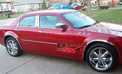 04-10 Chrysler 300/300C Chrome Fender Trim Long