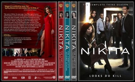 Nikita Season 1-3 Dvd Aberglasslyn Maitland Area Preview