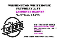 Washington whitehouse are holding some charity events