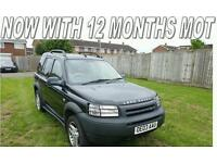 LANDROVER FREELANDER V6 ES PREMA in black with full leather daily use, lovely car.
