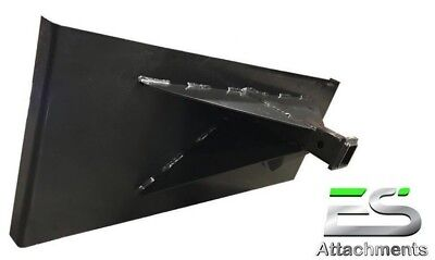 Es Hitch Plate Trailer Mover Skid Steer Quick Attach Local Pick-up