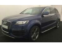 Blue AUDI Q7 3.0 TDI Diesel QUATTRO LIMITED EDITION FROM £147 PER WEEK!
