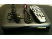 Digital Sky HD multi room  box complete with remote control HDMI cable