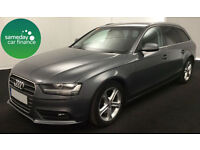£191.18 PER MONTH GREY 2012 AUDI A4 AVANT 2.0 TDI E TECHNIK ESTATE DIESEL MANUAL