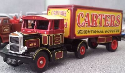 ATLAS GREATEST SHOW ON EARTH SCAMMELL TRACTOR & TRAILER CARTERS STEAM FAIR HU12