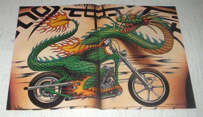 1994 David Mann Illustration - Tattoo