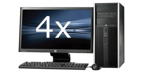 HP Elite 8200 Tower intel i7 + Dual 4x 23'' Widescreen LCD