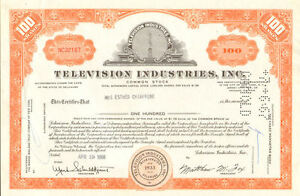 Television-Industries-Inc-TV-stock-certificate-share