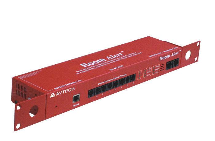 AVTECH Room Alert 32E & DeviceManager software RA32E-TH1-RAS Environment monitor