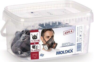 Moldex Atemschutzbox 857202 A2P2 R D Serie 8000 1x800201,2x807001,2x850001,2x809
