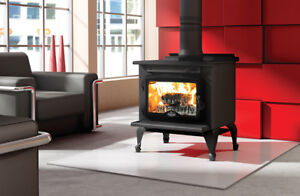 OSBURN WOOD STOVE AND SECURITY CHIMNEY PACKAGE