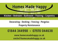 Homes Made Happy - Interior and Exterior services, Property Maintenance, Decorating
