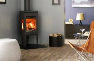 Jotul F163 MattBlack Woodstove Oakleigh East Monash Area Preview