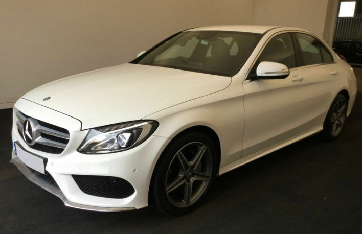 WHITE MERCEDES BENZ C220 C250 D AMG LINE SPORT SE PREMIUM PLUS £83 PER WEEK  | In Warrington, Cheshire | Gumtree