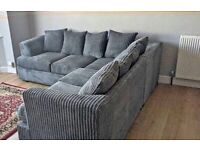 FACTORY-PACKED LIVERPOOL JUMBO CORD CORNER SOFA AND 3+2 SOFA SET AVAILABLE