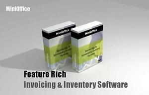 Manage your business with MiniOffice, inventory control, invoicing, barcode printing, mobile App, POS lite easy to use