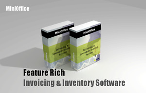 MiniOffice Inventory control n invoicing software for small Biz