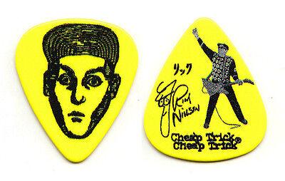 Cheap Trick Rick Nielsen Signature Yellow Guitar Pick - 2015 Tour