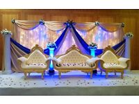 Asian Wedding Stages and Mehndi Stages. SPEICAL LIMITTED OFFER SELECTED STAGES NOW ONLY £350!!!!!