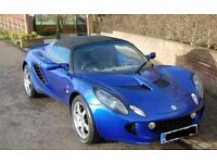 Lotus Elise S - Magnetic Blue, 2007, Toyota Engined, Lovely Car Brilliant to Drive