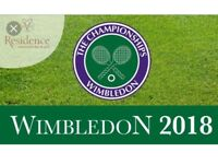 Court 1 Wimbledon Tickets 14/07/2018 14 July 2018. Got Two Tickets and Seat Together.
