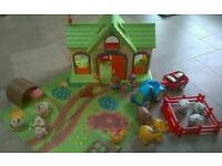 Happyland Farmhouse Playset