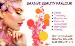 Saanvi Ladies Salon (women's and Girls Hair Dressing / Hair cuts) Woodville Charles Sturt Area Preview
