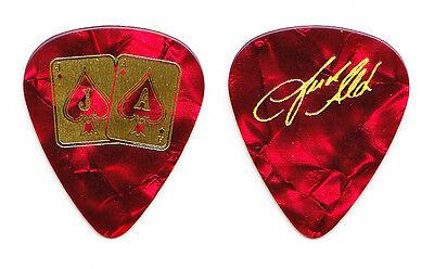 Jason Aldean Signature Red Pearl Guitar Pick - 2015 Tour